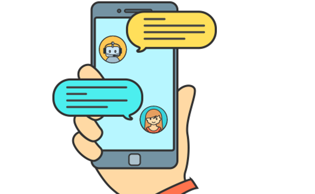 Chatbots personas y bots