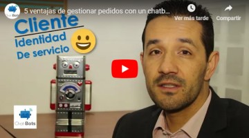 5 advantages of managing orders with a chatbot